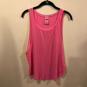 VS PINK Women's Open Arms Tank Top Size Med